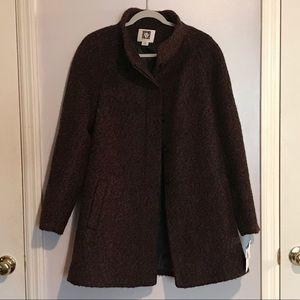 NWT Anne Klein Boucle Coat, mid-length, XL